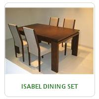 ISABEL DINING SET